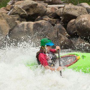 White Water Kayaking - Deso Paddle