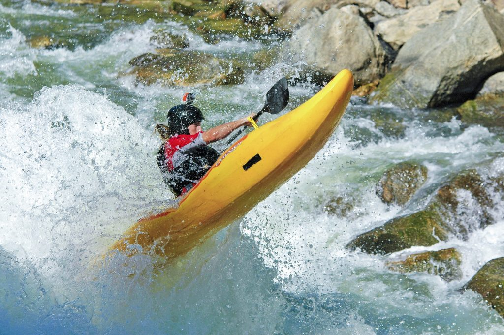 White water Kayaking guide