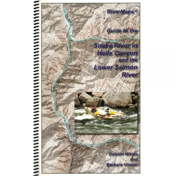 Hells Canyon river map